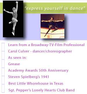 Broadway - TV - Film Professional Dance Kauai Jazz Tap Ballet